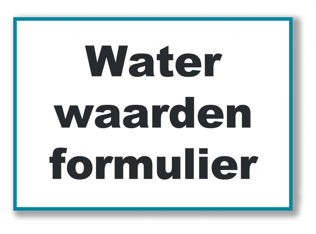 Watertest vijver watertesten vijver watertest for Voorgevormde koivijver