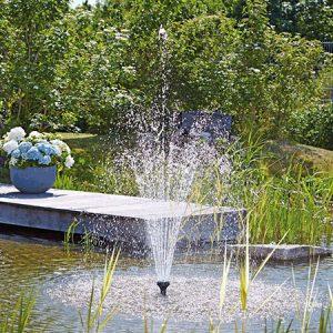 Vijver fontein - Verlichting   Vijvercentrum De Scheper